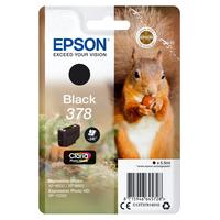Epson inktcartridge: Singlepack Black 378 Claria Photo HD Ink - Zwart