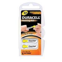 Duracell DA10 BATT HOOR 6-PACK (DA10)