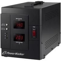 PowerWalker AVR 3000/SIV Voltage regulator - Zwart