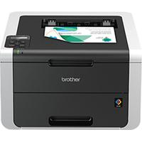 Brother laserprinter: HL-3150CDW Netwerk Kleurenledprinter 18 ppm - 64 MB - 2400 dpi class - interne duplexunit - .....