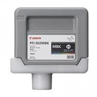 Canon inktcartridge: PFI-302MBK - Matzwart Pigment