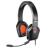 Tritton headset: Trigger Stereo Headset, Xbox 360 - Zwart, Oranje