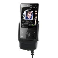 Carcomm houder: Mobile/Smartphone Cradle HTC Touch Diamond P3700, Black - Zwart