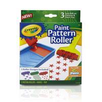 Crayola : 3 Verfrollers met patronen - Multi kleuren