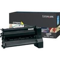 Lexmark toner: C77x, X772e 10K gele printcartridge - Geel