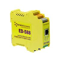 Brainboxes Ethernet to Digital Power relay - Geel