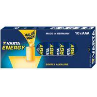 Varta batterij: 10x AAA 4103 - Blauw