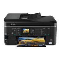 Epson inkjet printer: Stylus SX620FW/38ppm 5760dpi A4 USB Wifi