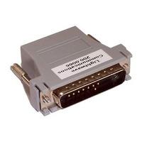 Lantronix kabel adapter: RJ45 to DB25M adapter - Grijs
