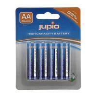 Jupio batterij: 4x AA, Alkaline, 1.5V - Blauw