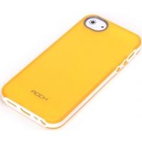 ROCK mobile phone case: Joyful Free Cover Apple iPhone 5/5S Orange - Oranje