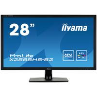 "Iiyama monitor: ProLite 71.12 cm (28 "") , 1920x1080pxs, Full HD, 16:9, LED, 300cd/m², 5ms, 3000:1, 95%, 2.1MP, VESA - ....."