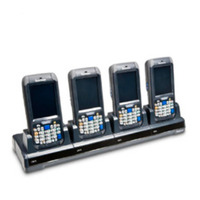 Intermec docking station: QUAD DOCK ETHERNET CN70/70E CPNT - Zwart