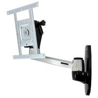 Ergotron montagehaak: LX HD Wall Mount Swing Arm - Aluminium