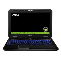 MSI laptop: Workstation WT60-2OKU32SR51BW 4K Edition - Zwart