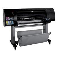 HP grootformaat printer: Designjet Z6100 printerserie Designjet Z6100 1067-mm printer - Cyaan, light Cyaan, Magenta, .....