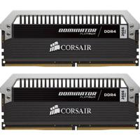 Corsair RAM-geheugen: Dominator Platinum 8GB DDR4-3000 - Platina, Zwart