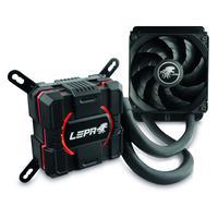 LEPA water & freon koeling: AquaChanger 120 - Zwart, Rood
