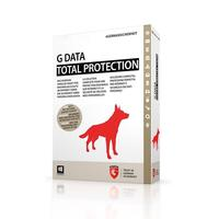 G DATA software licentie: Total Protection, ESD, Win, Full, 10 U, 1 Y, D/F/I