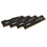 HyperX RAM-geheugen: FURY Black 16GB DDR4 2400MHz Kit - Zwart