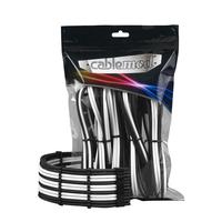 Cablemod PRO ModMesh Cable Extension Kit, Black / White - Zwart,Wit