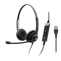 Sennheiser headset: SC 260 MS II - Zwart
