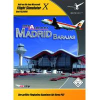 Mega Airport Madrid (FS X Add-On) (DVD-Rom)