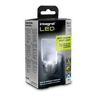 Integral LED : Auto Sensor LED Night Light (Euro 2-Pin plug) - Wit