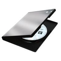 Fellowes : 5x Plastic DVD doosjes - Zwart