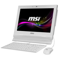 MSI all-in-one pc: AP1622ET-W10374G50X10PASXH - Wit