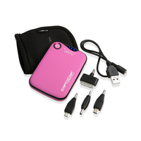 Veho powerbank: Pebble Verto - Roze