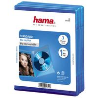 Hama 4751349 Blu-ray Dvd-doosjes - 3 stuks / Blauw
