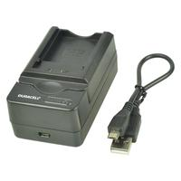 Duracell oplader: USB, 5V, Replacement f/ Canon NB-1L/NB-3L - Zwart
