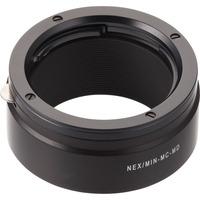 Novoflex lens adapter: NEX/MIN-MD - Zwart