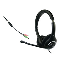 Sandberg headset: Plug'n Talk Headset Black - Zwart