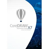 Corel software licentie: DRAW Technical Suite X7
