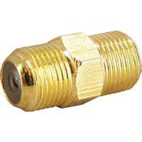 Schwaiger coaxconnector: GOKVB8323 537 - Goud