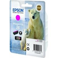 Epson inktcartridge: Singlepack Magenta 26 Claria Premium Ink