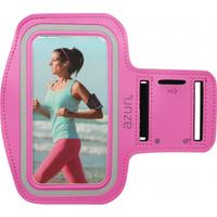 Azuri mobile phone case: Sport armband large - roze