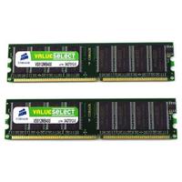 Corsair RAM-geheugen: 8GB (2x4GB) DDR3 1600MHz UDIMM