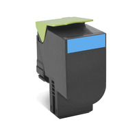 Lexmark cartridge: 702XC R - Cyaan