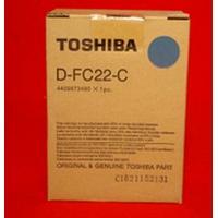 Toshiba ontwikkelaar print: Developer Cyan, Standard Capacity, 1-pack - Cyaan
