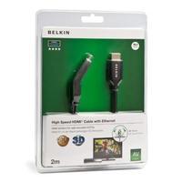 Belkin HDMI kabel: HDMI M/M 2m - Zwart