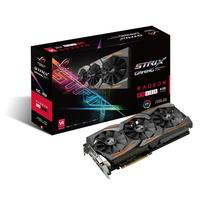 ASUS videokaart: Radeon RX 480 Strix Gaming 8GB - Zwart
