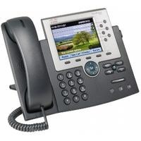 Cisco Unified IP Phone 7965G w/ 1 RTU License dect telefoon - Zwart, Zilver
