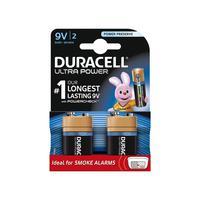 Duracell batterij: 2 x 9V alkaline