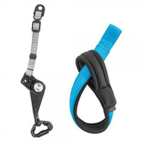 Pacsafe camera riem: Carrysafe 50 GII - Zwart, Blauw