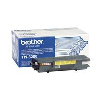 Brother toner: TN-3280 Toner - Zwart