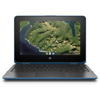 HP Chromebook x360 11 G2 EE Laptop - Blauw, Grijs