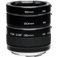 Kenko camera lens: DG Ext. Tube Set Nikon AF - Zwart